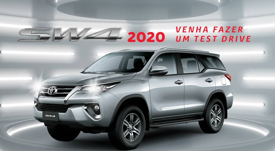 a nova SW4 2020