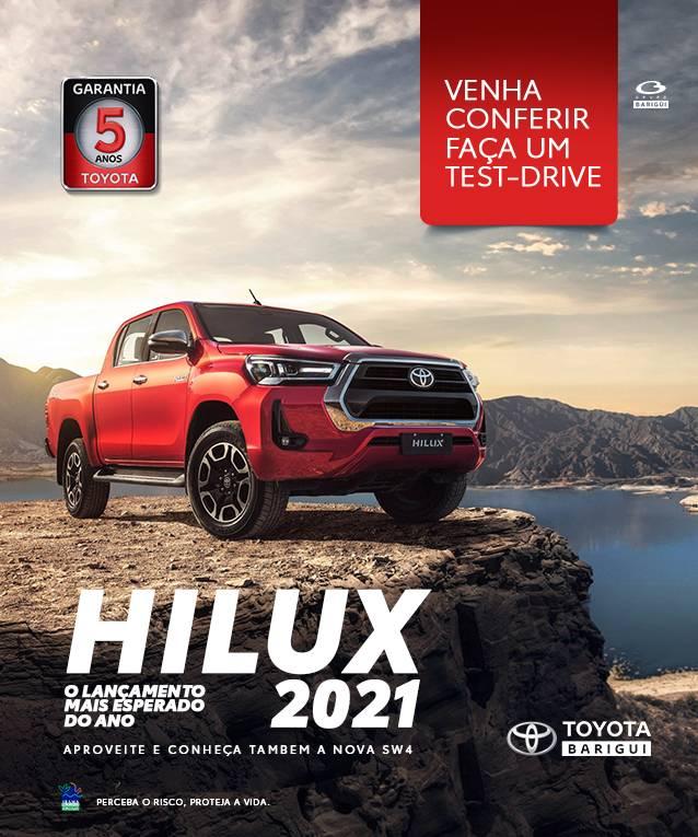 HILUX 2021 | TEST DRIVE